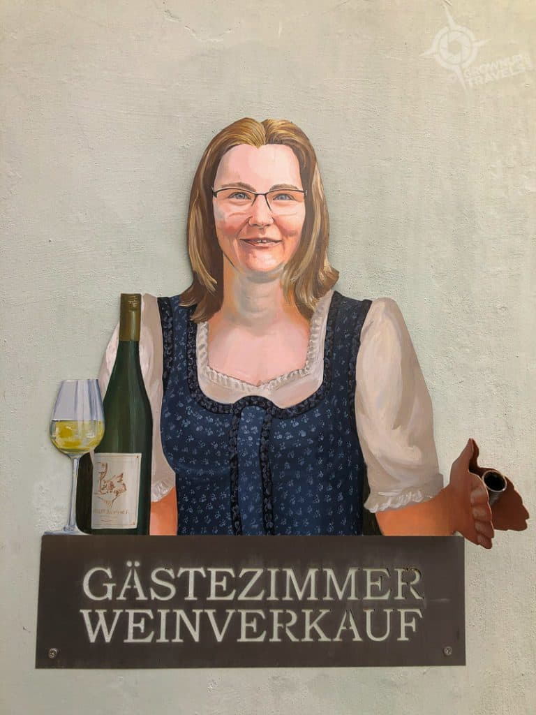 Durnstein Wine Pub sign