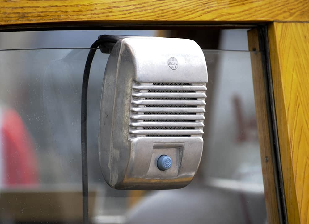 vintage-drive-in-movie-speaker *public domain