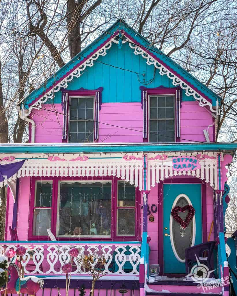 Grimsby Cotton Candy House