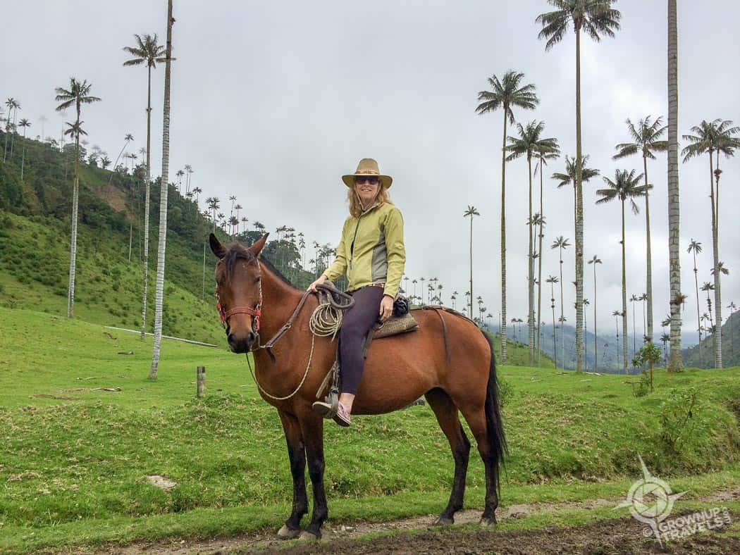 Horseback Riding in Horseback riding in Cocora Valley Colombia